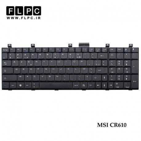 main images کیبورد لپ تاپ ام اس آی MSI CR610 Laptop Keyboard مشکی