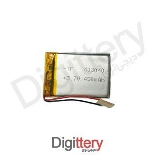 باتری لیتیوم 450mAh