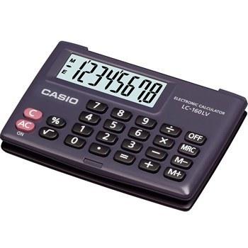 عکس ماشين حساب کاسيو  LC-160LV-BK-WSX-100 Casio LC-160LV-BK-W Calculator ماشین-حساب-کاسیو-lc-160lv-bk-wsx-100
