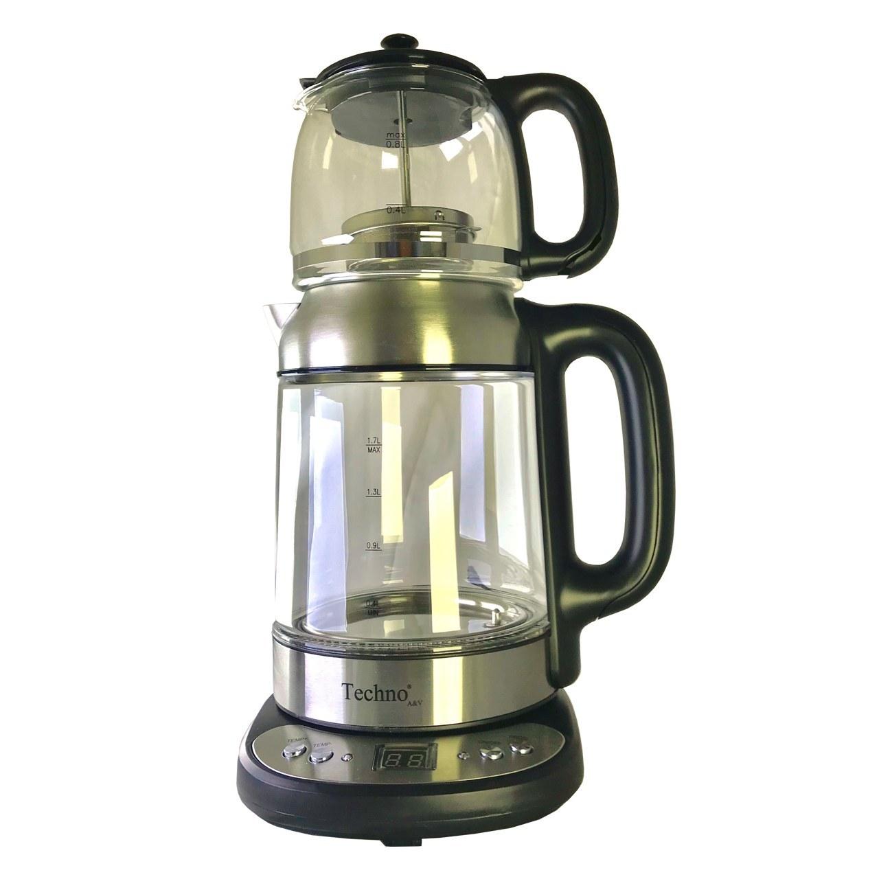 تصویر چای ساز تکنو  پیرکس TE-911