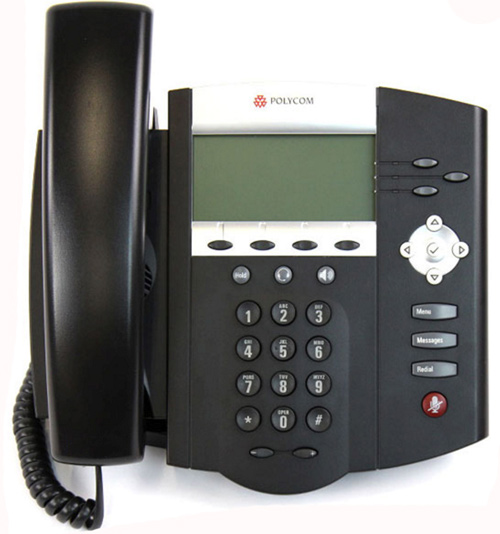 main images Polycom SoundPoint IP 450 phone تلفن VoIP پلی کام مدل SoundPoint IP 450 تحت شبکه