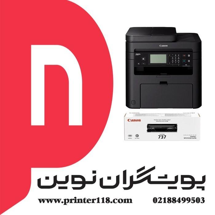 تصویر چندکاره CANON MF249DW Canon i-SENSYS MF249dw A4 Mono Multifunction Laser Printer
