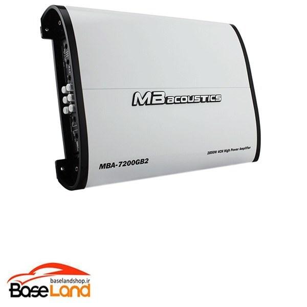 تصویر MB acoustics MBA-7200GB2 آمپلی چهار کانال