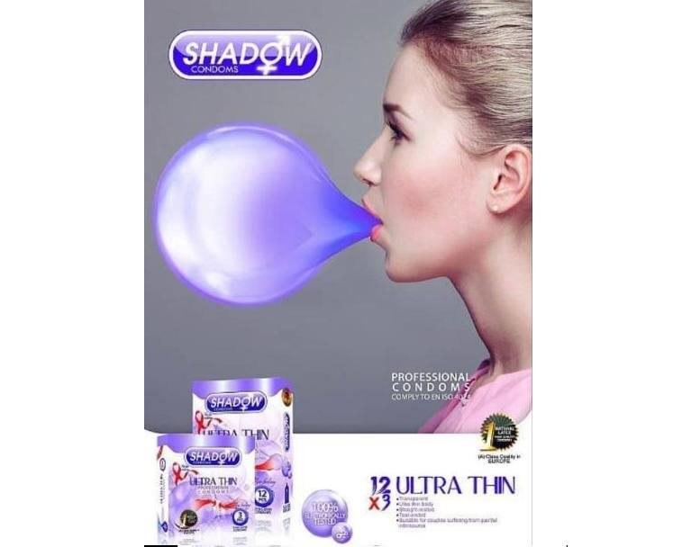 تصویر کاندوم شادو مدل Ultra Thin بسته 12 عددی