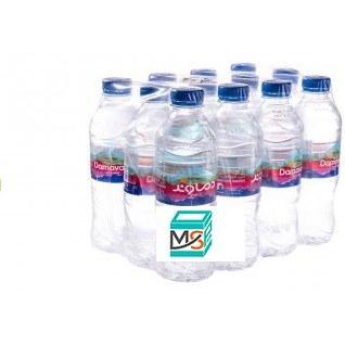 تصویر آب معدنی نیم لیتری دماوند 12عددی