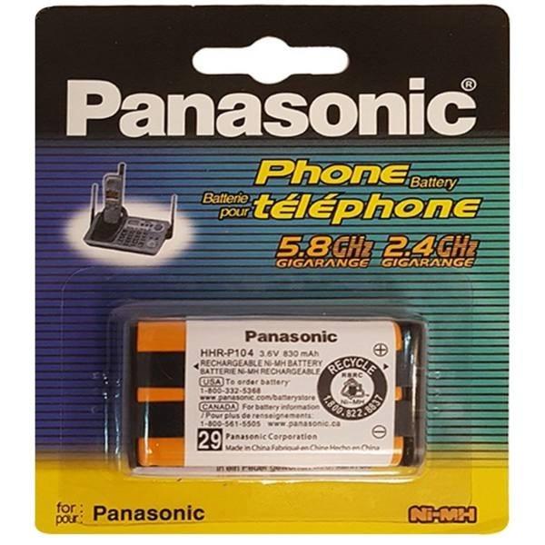 main images باتری تلفن بی سیم پاناسونیک مدل P104