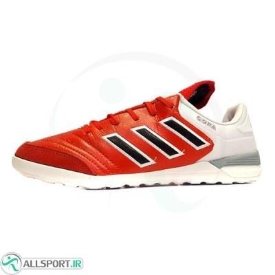 کفش فوتسال آدیداس کوپا طرح اصلی قرمز سفید Adidas Copa