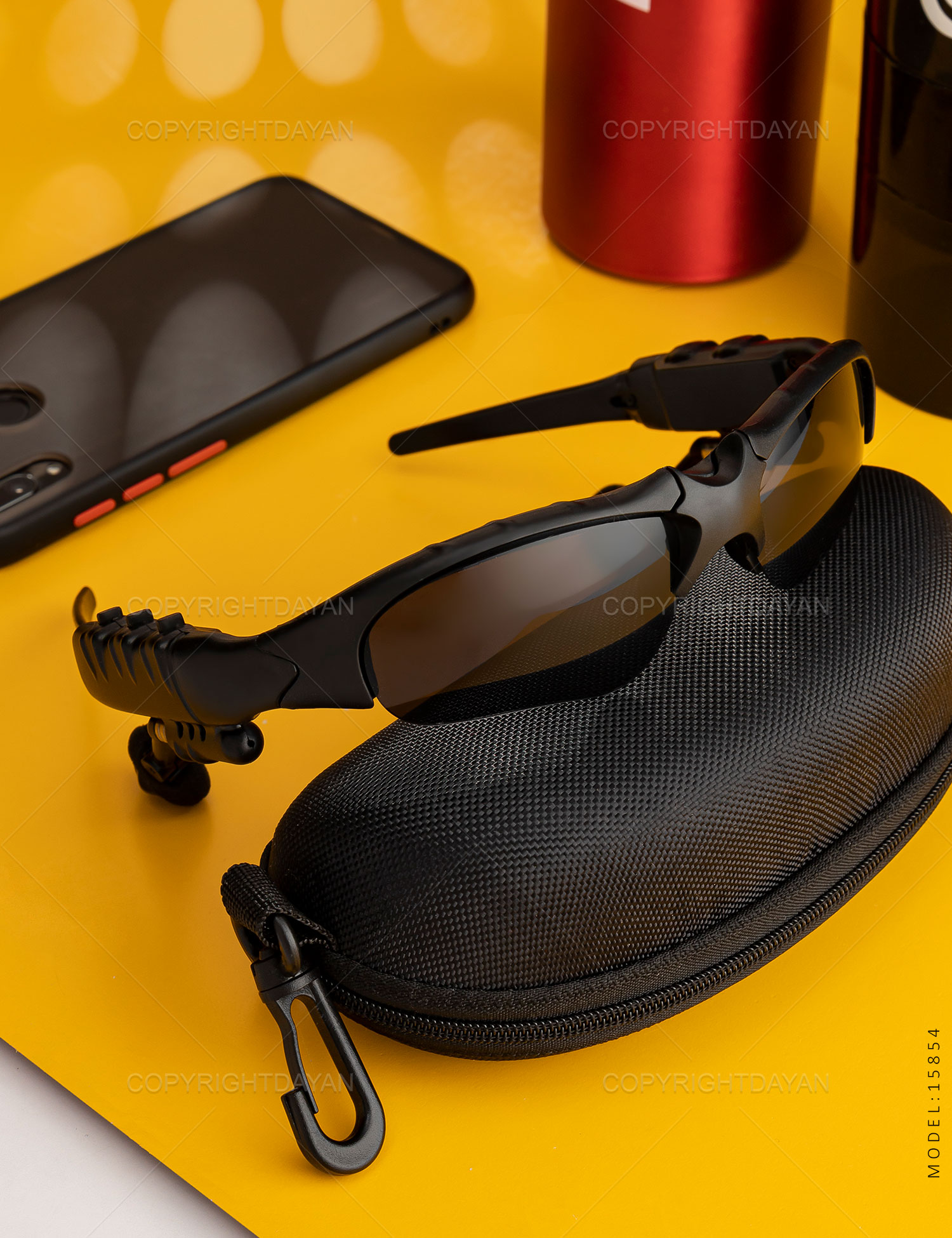 هدفون عینک بلوتوثی Smart مدل 15854