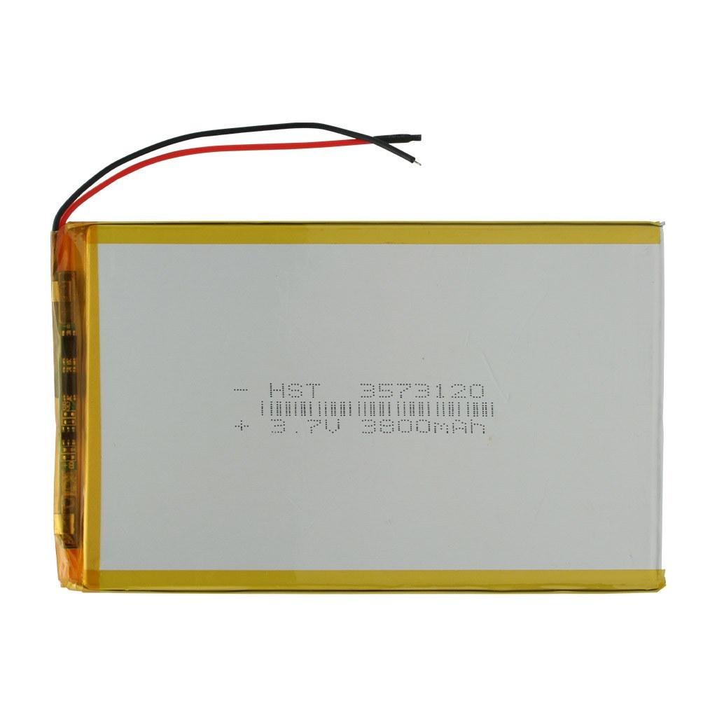 تصویر باتری تبلت 3.7 ولت مدل 3573120 ظرفیت 3800 میلی آمپر ساعت 3573120 - 3800mAh 3.7V Tablet Battery