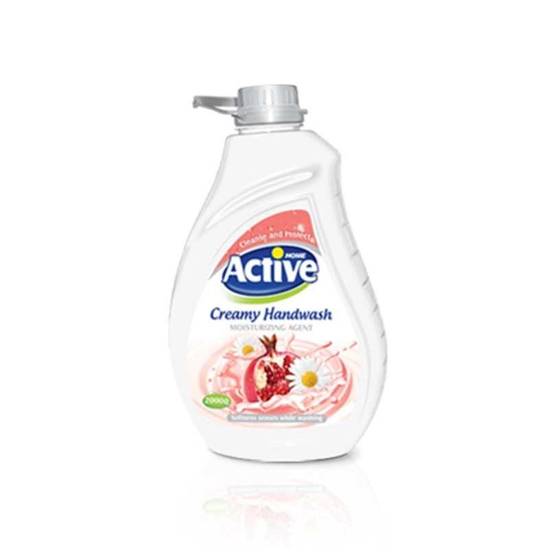 تصویر مایع دستشویی کرمی اکتیو 2000 گرمی رنگ صورتی