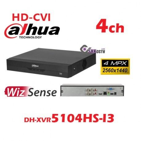 تصویر دستگاه ضبط تصاویر 4 کانال داهوا HDCVI Dahua DH-XVR5104HS-I3