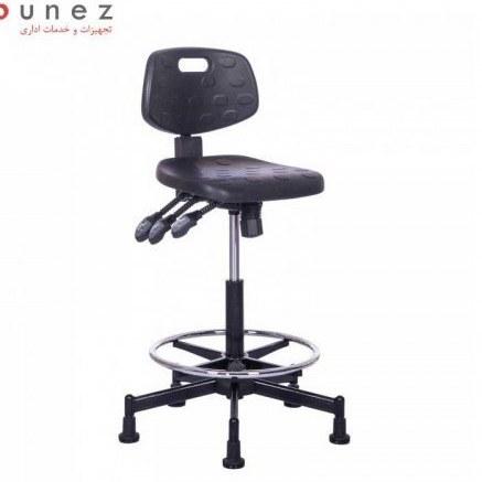 صندلی آزمایشگاهی صنعتی مدل SL411R نیلپر-مبلمان اداری-نیلپر |