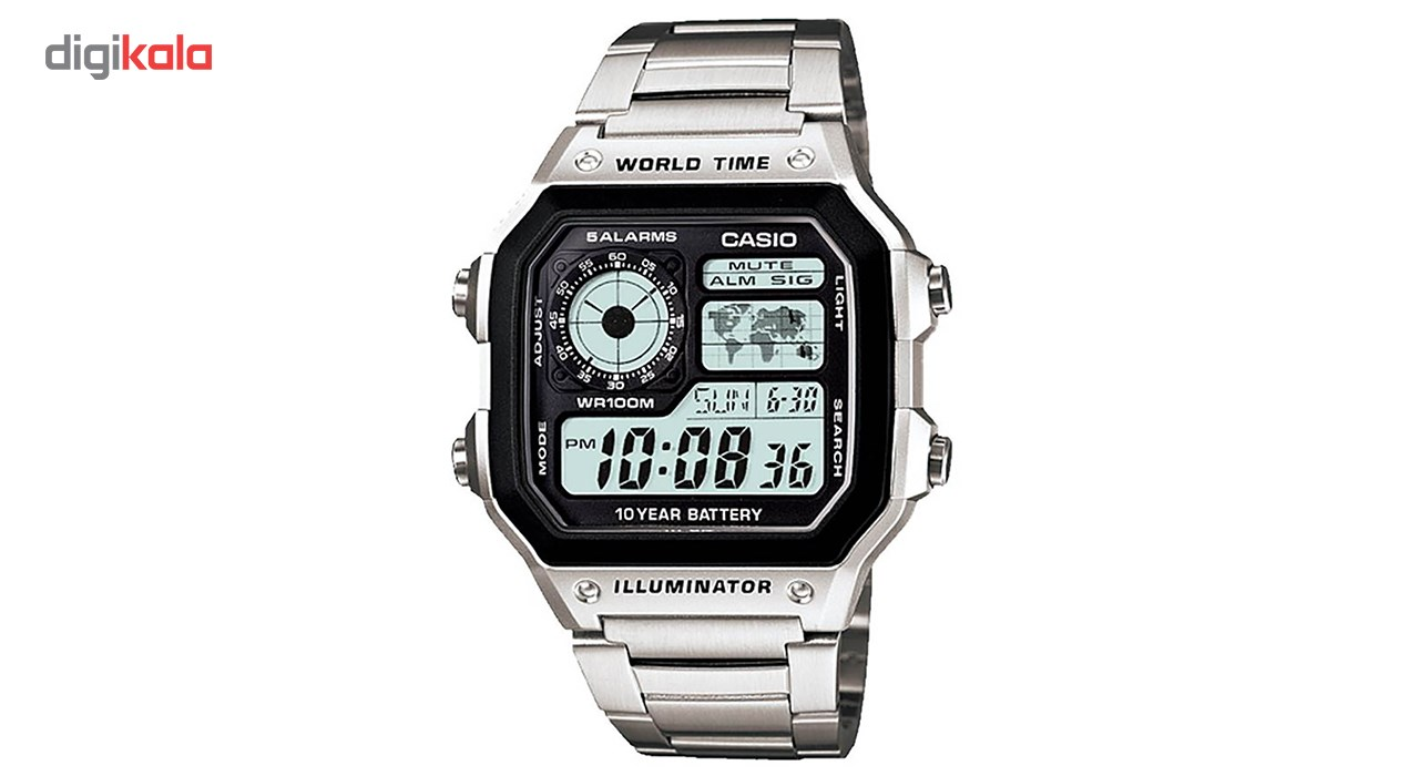 ساعت مچی مردانه کاسیو مدل AE1200WHD-1A