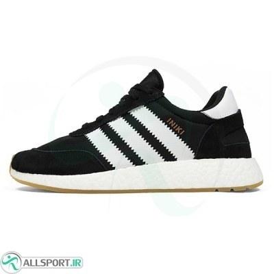 کتانی رانینگ زنانه آدیداس Adidas Iniki Boost Runner Black White