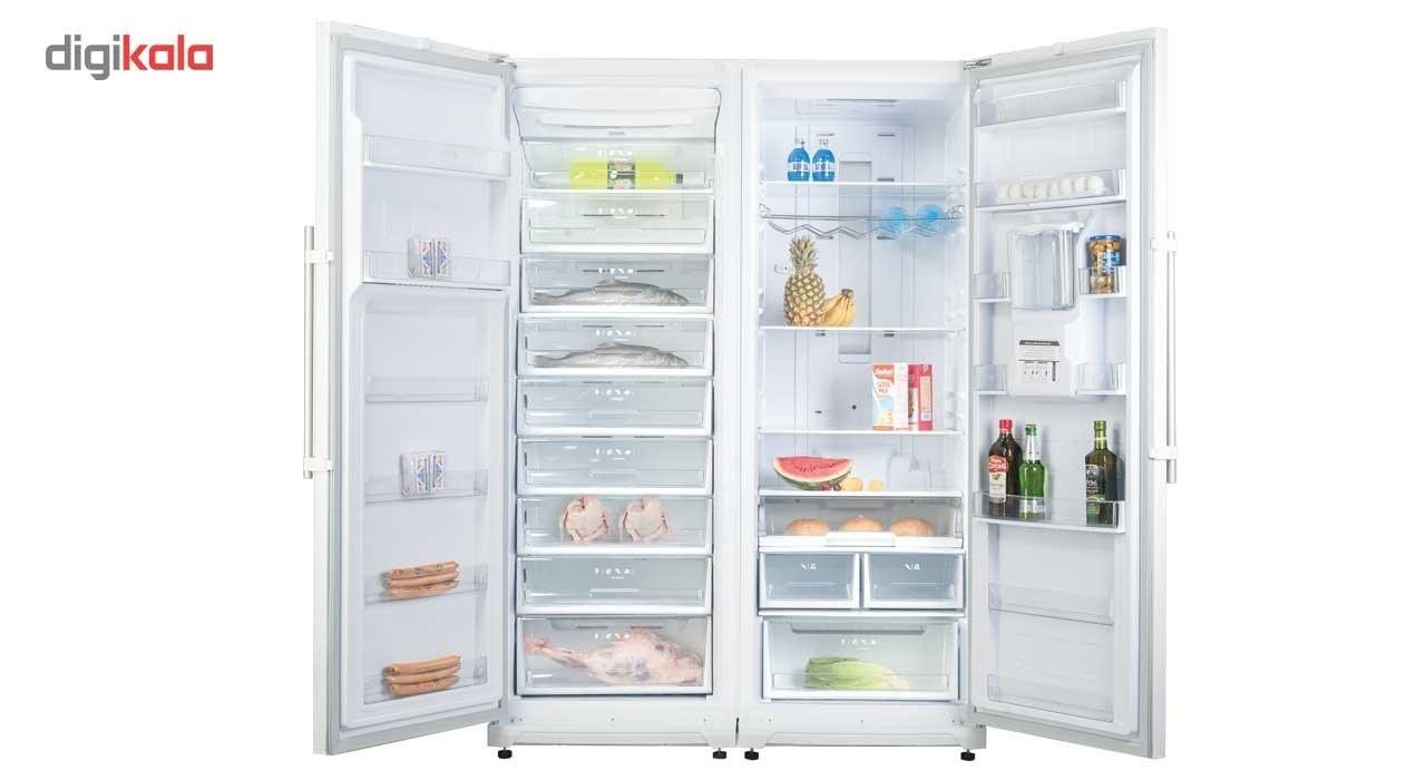 img یخچال و فریزر کلور مدل RNT101-FNT101 Clever FRNT101 Refrigerator and Freezer