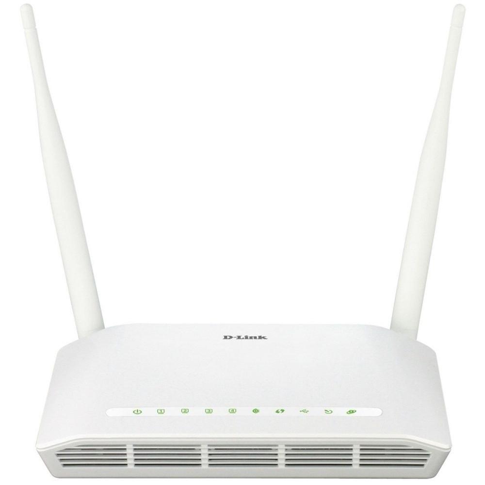 تصویر مودم روتر ADSL2 Plus بیسیم N300 دی-لینک مدل DSL-2750U New