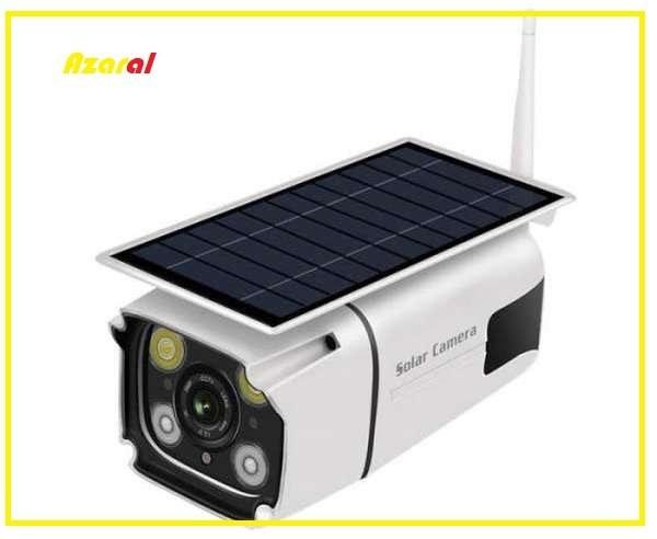 تصویر دوربین مدار بسته خورشیدی (بدون نیاز به برق)
