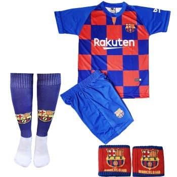 عکس ست لباس ورزشی پسرانه طرح بارسلونا کد 2019  ست-لباس-ورزشی-پسرانه-طرح-بارسلونا-کد-2019