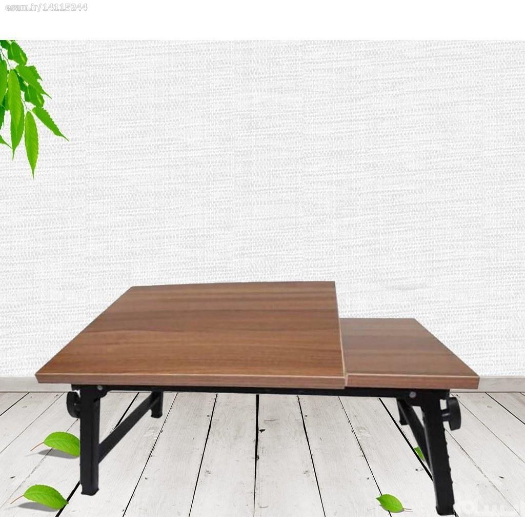 میز تحریر و لپ تاپ تاشو 2 تکه مهر تجهیز سایز متوسط |