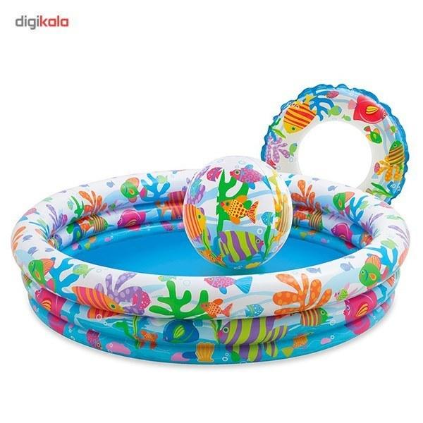 عکس استخر بادی اینتکس مدل 59469 Intex 59469 Inflatable Pool استخر-بادی-اینتکس-مدل-59469