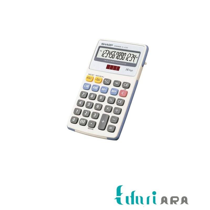تصویر ماشین حساب EL-421M  شارپ Sharp EL-421M Calculator