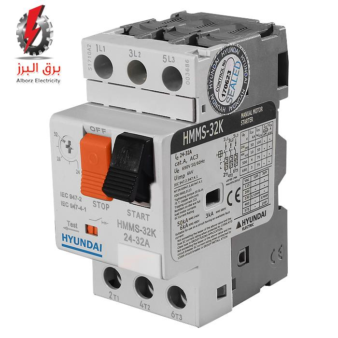 تصویر کلید حرارتی 6 الی 10A هیوندا