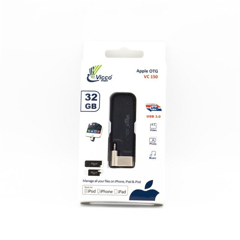 فلش آیفونی ۳۲ گیگ ویکومن Vicco VC 150 USB3.0 OTG