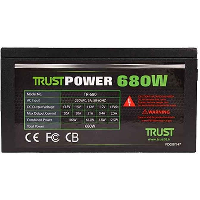 main images Power Trust 680w Real | پاور کارکرده ماژولار تراست