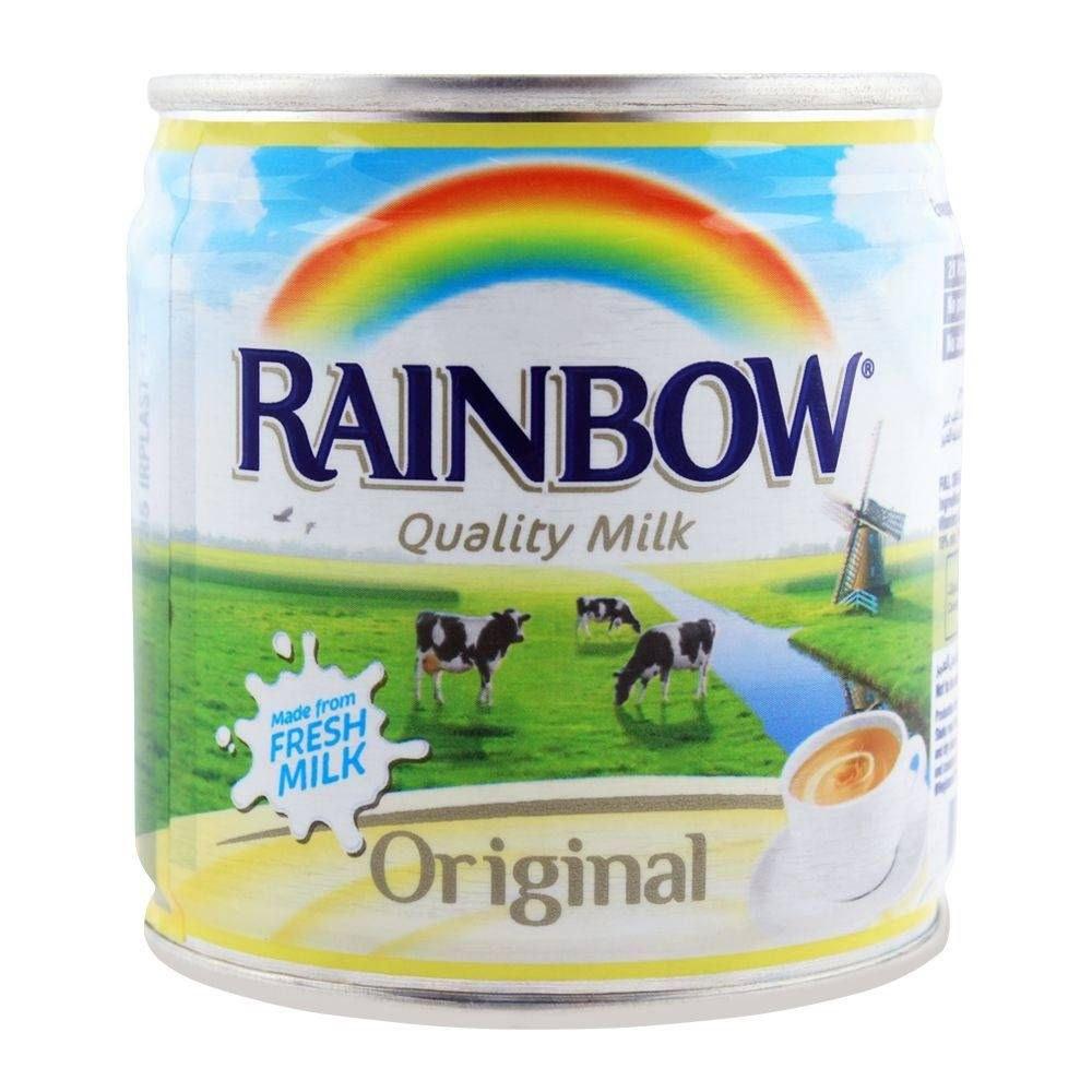 تصویر شیر ابکی ابوقوس 160میل قوطی Rainbow