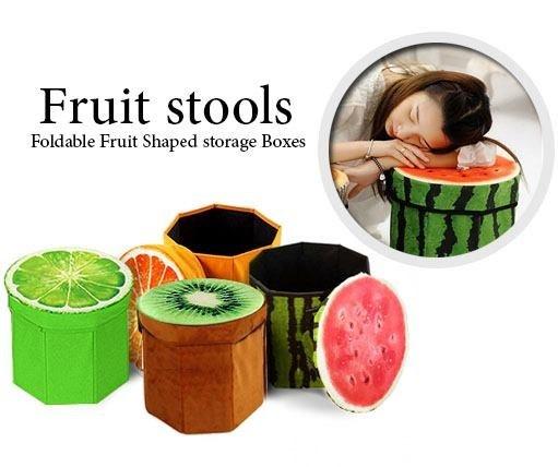 باکس و صندلی سه بعدی طرح میوه