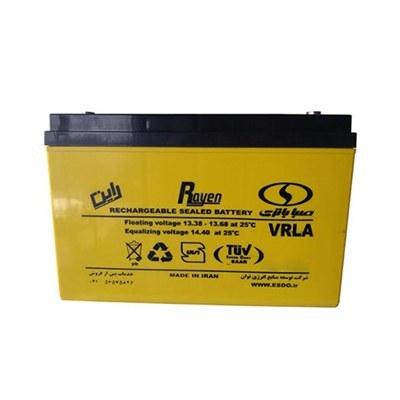 باتری 155 آمپرساعت، 12 ولت SABA BATTERY نوع UPS |