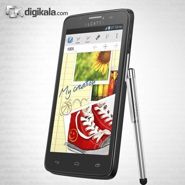 img گوشی آلکاتل وان تاچ اسکرایب ایزی 8000D | ظرفیت 4 گیگابایت Alcatel One Touch Scribe Easy 8000D | 4GB