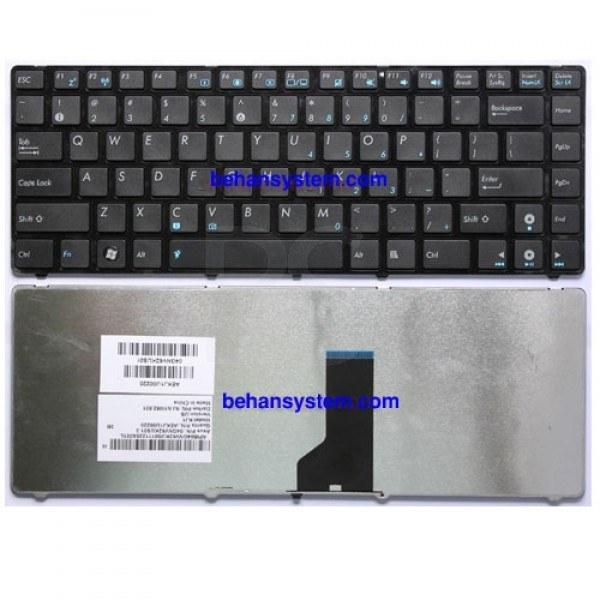 به همراه لیبل کیبورد فارسی جدا گانه | کیبورد لپ تاپ ASUS مدل X44