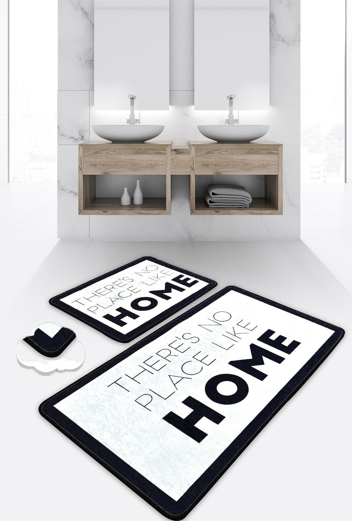 تصویر ست زیرپایی فرش حمام خانه برند Chilai Home کد 1617165322