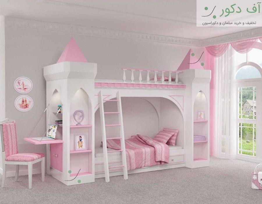 تخت دو طبقه پرنس  