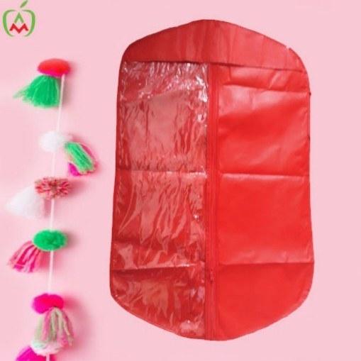 تصویر کاور لباس کودک قرمز بسته 3 عددی
