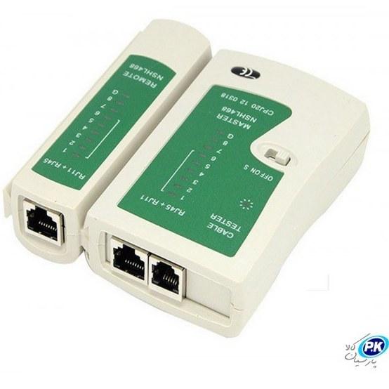 تصویر تستر شبکه ا LAN Tester RJ45 RJ11 LAN Tester RJ45 RJ11