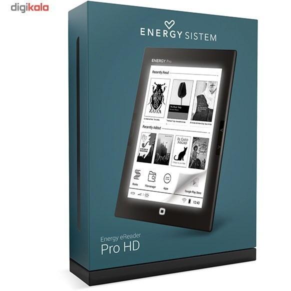 تصویر کتابخوان انرژيسيستم مدل Energy Ereader Pro HD - ظرفيت 8 گيگابايت Energy Sistem Energy Ereader Pro HD E-reader - 8GB
