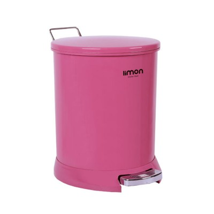 تصویر سطل گرد 15 لیتری لیمون (صنعت سازان)