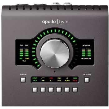 تصویر کارت صدای یونیورسال آودیو مدل Apollo Twin MKII Quad