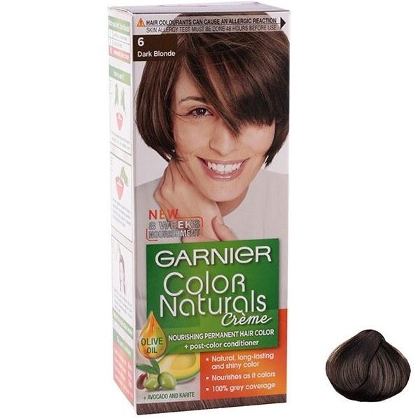عکس کیت رنگ مو گارنیه شماره Color Naturals Shade 6 Garnier Color Naturals Shade 6 Hair Color کیت-رنگ-مو-گارنیه-شماره-color-naturals-shade-6