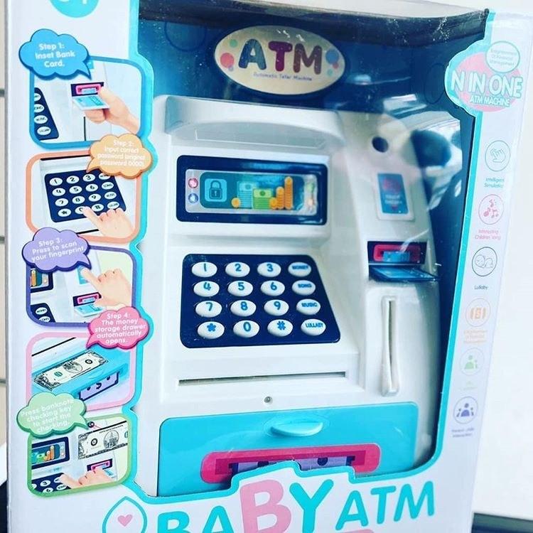 اسباب بازی دستگاه ATM