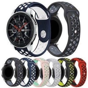 بند ساعت سامسونگ Galaxy Watch 46mm مدل اسپرت نایکی   Samsung Galaxy Watch 46mm Nike Silicone Band