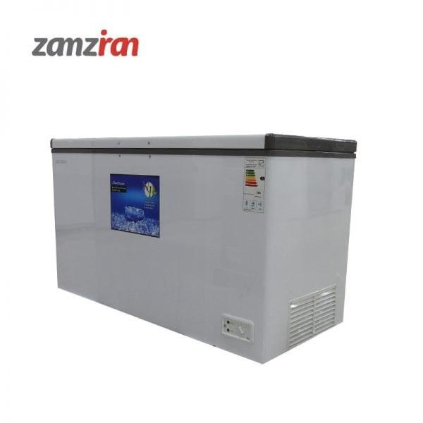 تصویر فریزر صندوقی تراکمی تک درب الکتروسان مدل ECF-C395