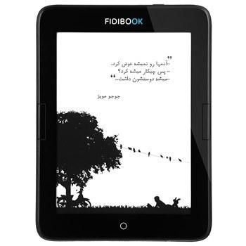 کتاب خوان فيديبوک مدل Hannah F1 WiFi ظرفيت 8 گيگابايت | Fidibook Hannah F1 WiFi E-reader 8GB