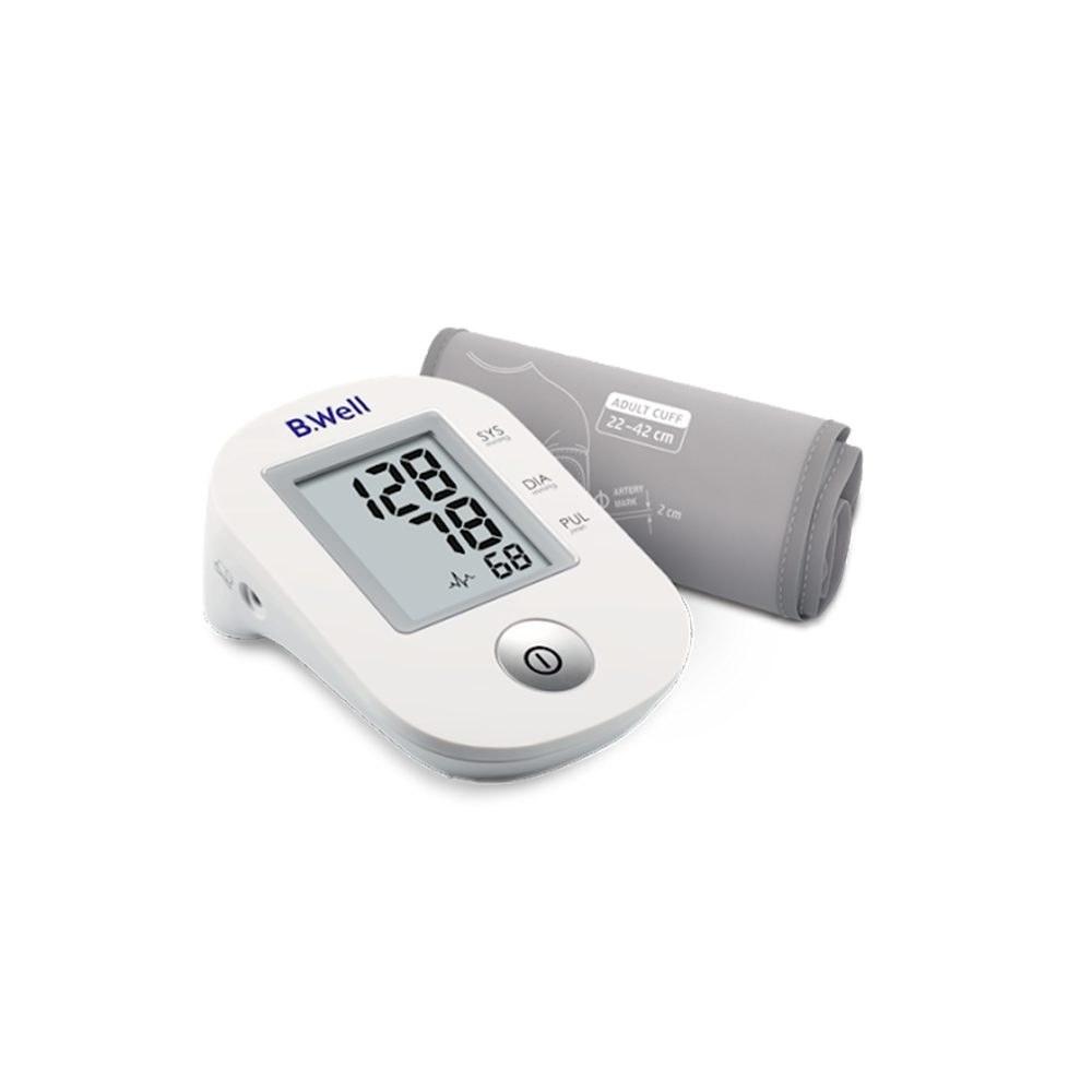 تصویر فشارسنج دیجیتال بی ول مدل PRO-33 با آداپتور B.Well PRO-33 Blood Pressure Monitor With adapter