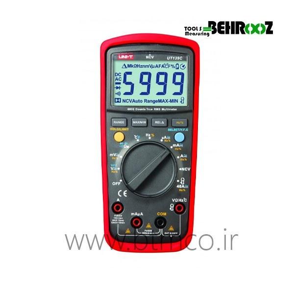 مولتی متر پرتابل دیجیتال یونیتی UT139C