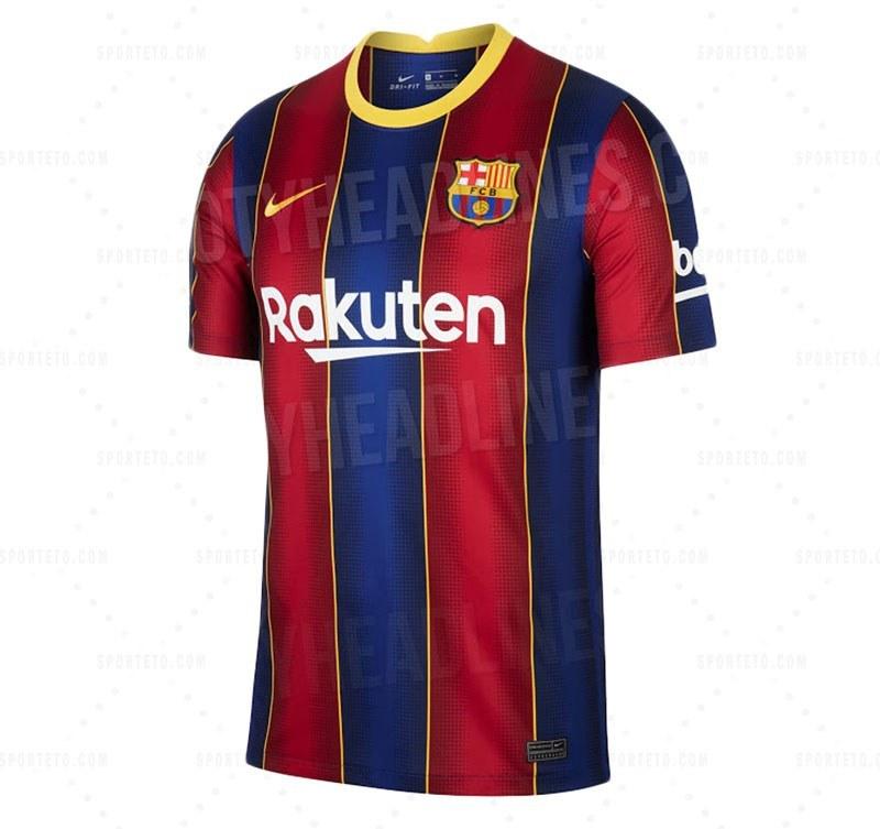 پیراهن بارسلونا 2021 / 2020 (کیت احتمالی)