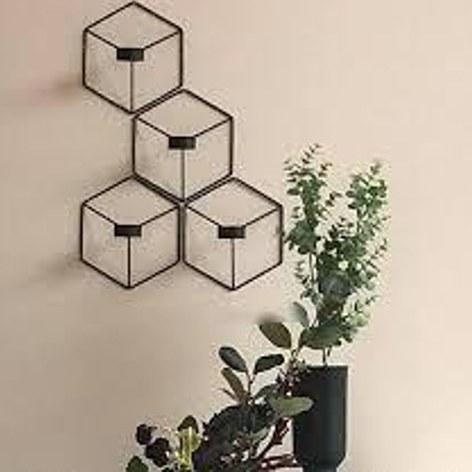 جاشمعی شش ضلعی دیواری