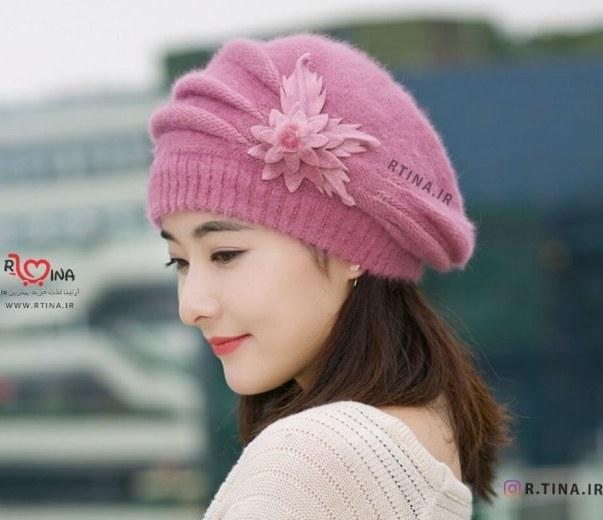 کلاه پشمی زمستانی زنانه مدل B3 |